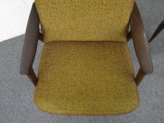 Danish Modern Scoop Arm Walnut Lounge Chair with Adjustable Ottoman - 1877315