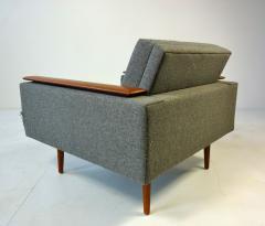 Danish Modern Sleek Low Lounge Chairs - 388100