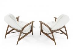 Danish Modern Teak Lounge Chairs - 1854059