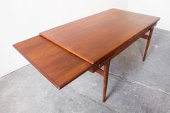 Danish Teak Extension Dining Table - 219558