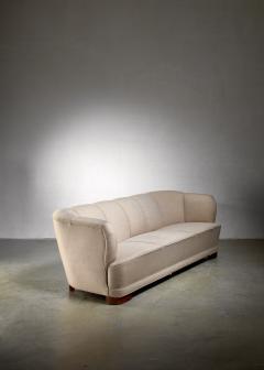 Danish three seat sofa 1940s - 1138582