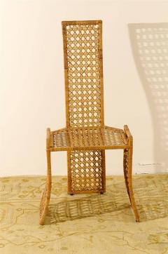 danny ho fong fabulous set of six rattan dining chairs by danny ho fong
