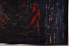Dark Abstract Oil Painting - 1188600