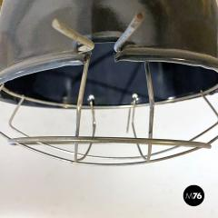 Dark gray industrial chandeliers 1960s - 2034739