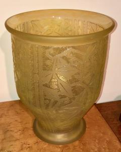 Daum Nancy Daum Nancy Art Deco Acid Etched French Glass - 1418723