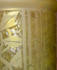 Daum Nancy Daum Nancy Art Deco Acid Etched French Glass - 1418728