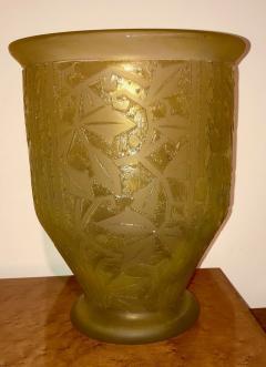 Daum Nancy Daum Nancy Art Deco Acid Etched French Glass - 1418739
