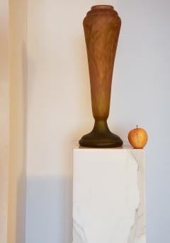 Daum Nancy Daum Nancy Vase Art Nouveau Cameo French Art Glass 20 5 inches - 1184518