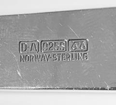 David Andersen David Andersen Sterling Silver Servers Norway C 1960 - 2041826