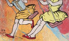 David Bromley Swing Set - 324470