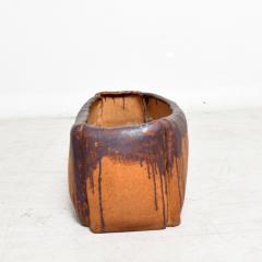 David Cressey Calif Architectural Pottery Organic Flame Glazed Planter David Cressey era 1960s - 1681581