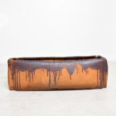 David Cressey Calif Architectural Pottery Organic Flame Glazed Planter David Cressey era 1960s - 1681583