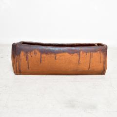 David Cressey Calif Architectural Pottery Organic Flame Glazed Planter David Cressey era 1960s - 1681588