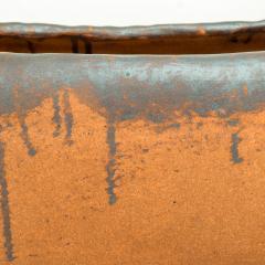 David Cressey Calif Architectural Pottery Organic Flame Glazed Planter David Cressey era 1960s - 1681590