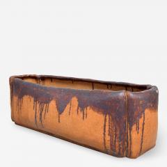 David Cressey Calif Architectural Pottery Organic Flame Glazed Planter David Cressey era 1960s - 1682736