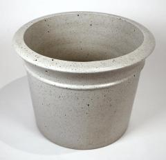 David Cressey Massive David Cressey Stone White Architectural Pottery Pro Artisan Planter - 912080
