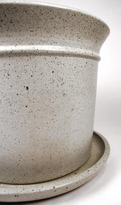 David Cressey Massive David Cressey Stone White Architectural Pottery Pro Artisan Planter - 912082