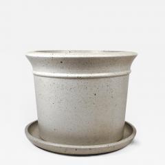 David Cressey Massive David Cressey Stone White Architectural Pottery Pro Artisan Planter - 912639