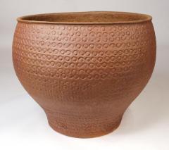 David Cressey Unglazed Cheerio Ceramic Planter for Architectural Pottery - 1217974