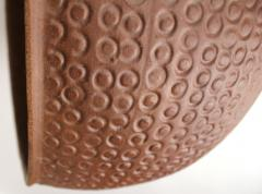 David Cressey Unglazed Cheerio Ceramic Planter for Architectural Pottery - 1217982