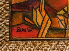 David Davidovich Burliuk David Burliuk untitled abstract oil on canvas - 1092911