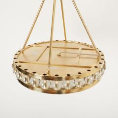 David Duncan 24 Tambour Hammered Pendant in Brass by David Duncan - 1029004