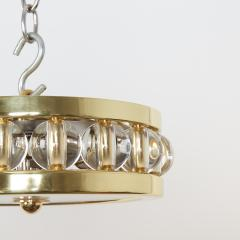 David Duncan The 12 5 Tambour Flush Mount in Brass by David Duncan - 1044528