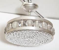 David Duncan The Decazes Tambour 17 Pendant with Silver Plate Finish by David Duncan - 1047338