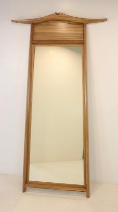 David Ebner American Studio Craft Pagoda Mirror by David Ebner - 1622189
