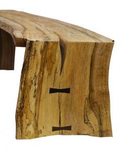 David Ebner The David Ebner Free Edge Spalted Maple Bench - 748017