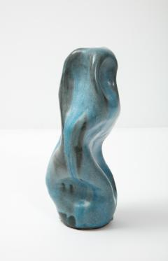 David Haskell Totem Sculpture with Folds 2 by David Haskell - 2097116