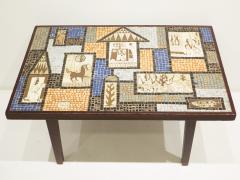 David Holleman David Holleman Ceramic Mosaic Table - 476571