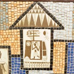 David Holleman David Holleman Ceramic Mosaic Table - 476572