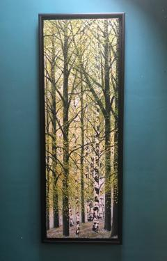 David J Williams Spring Birches - 1613750