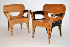 David Kawecki Pair of Puzzle Chairs by David Kawecki - 1018671