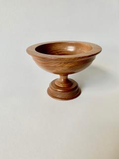 David Linley David Linley Small Walnut Footed Bowl - 1359918
