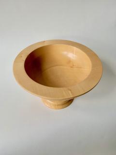David Linley David Linley Sycamore Large Footed Bowl - 1359908