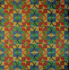 David Lipszyc Kinetic painting by David Lipszyc 1969 - 961251