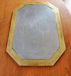 David Marshall David Marshall Brutalist Cast Aluminum and Bronze Plates Spain Late 1970s - 1249919