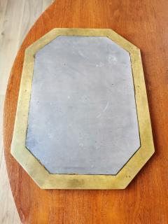 David Marshall David Marshall Brutalist Cast Aluminum and Bronze Plates Spain Late 1970s - 1249922