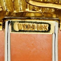 David Webb DAVID WEBB 18K YELLOW GOLD CAMEO SAGITTARIUS BROOCH - 1932094
