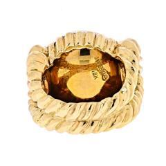 David Webb DAVID WEBB 18K YELLOW GOLD MABE PEARL RING - 1941054