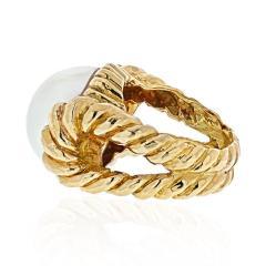 David Webb DAVID WEBB 18K YELLOW GOLD MABE PEARL RING - 1941055