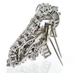 David Webb DAVID WEBB 1960S IMPRESSIVE 25 CARAT DIAMOND CLUSTER BROOCH - 1932081