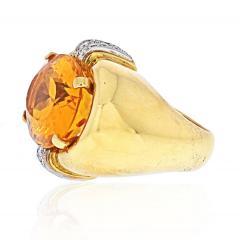 David Webb DAVID WEBB PLATINUM 18K YELLOW GOLD RING - 1932138