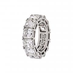 David Webb DAVID WEBB PLATINUM RADIANT CUT DIAMOND 12 92 CARAT ETERNITY BAND - 1788310