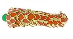 David Webb David Webb Animal Kingdom Enamel Serpent Bracelet - 458583
