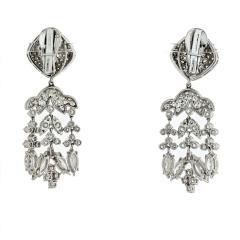 David Webb David Webb Day And Night 20 17 Carat Diamond Chandalier Earrings - 1672001