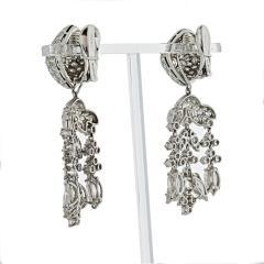 David Webb David Webb Day And Night 20 17 Carat Diamond Chandalier Earrings - 1672002