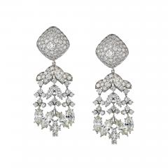 David Webb David Webb Day And Night 20 17 Carat Diamond Chandalier Earrings - 1673436